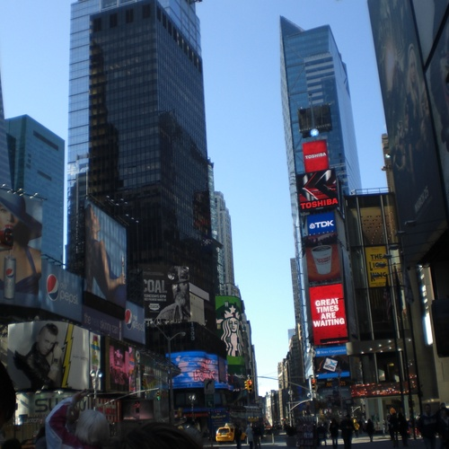 Go to Times Square - Bucket List Ideas