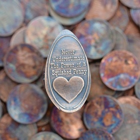 Collect 50 pressed pennies from places I have visited - Bucket List Ideas