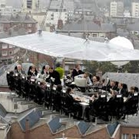 Eat dinner in the sky - Bucket List Ideas