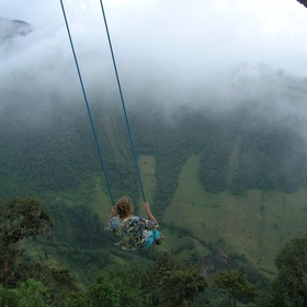 Go on the swing at the end of the world - Bucket List Ideas