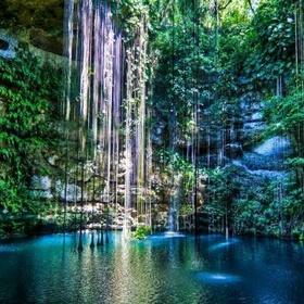 Swim in the Natural Pool of Chichen Itza - Bucket List Ideas