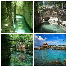 Relax at Xcaret, Mexico - Bucket List Ideas