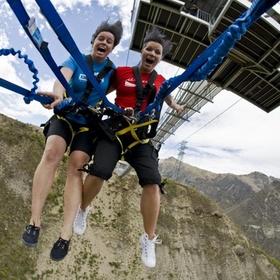 Free fall on the Nevis Swing in New Zealand - Bucket List Ideas