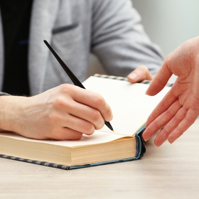 Attend a Book Signing - Bucket List Ideas
