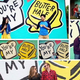 """Visit the """"You're my butter half"""" wall - Bucket List Ideas"""