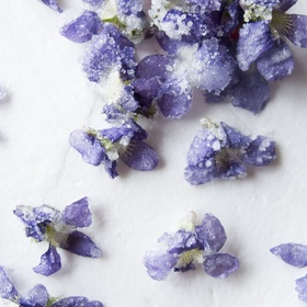 Try candied violets 💜 - Bucket List Ideas