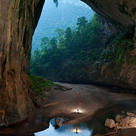 Go cave exploring in Son Doong cave in Vietnam - Bucket List Ideas
