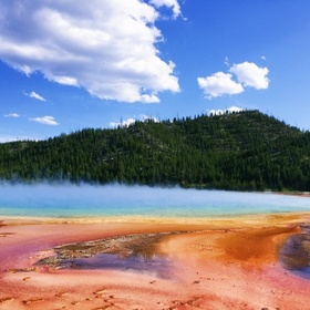 See the Grand Prismatic Spring - Bucket List Ideas