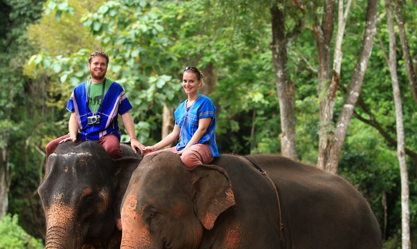 Ride and Bathe with ELEPHANTS in Thailand - Bucket List Ideas