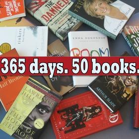 Read 50 books in 2014 - Bucket List Ideas