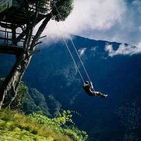Swing at the end of the world, Banos, Ecuador - Bucket List Ideas