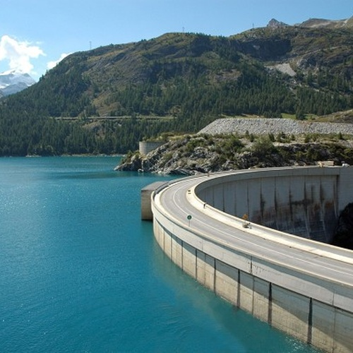See Hercules holding up the Tignes Dam - Bucket List Ideas