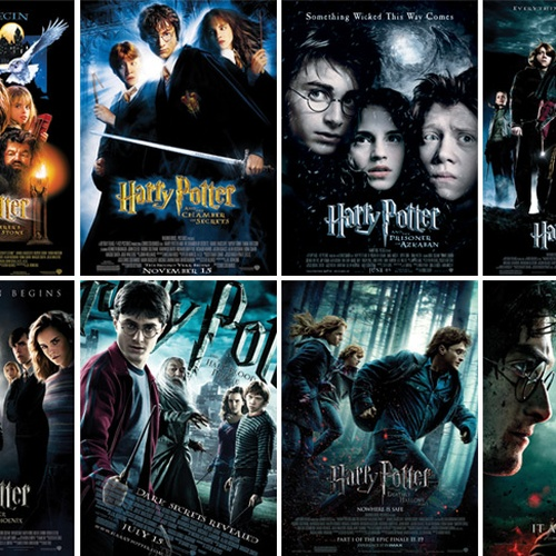 Faire un marathon Harry Potter - Bucket List Ideas