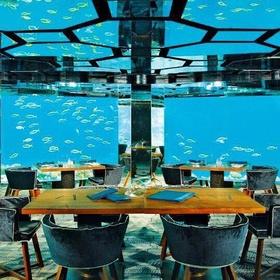 Eat at an underwater restaurant - Bucket List Ideas