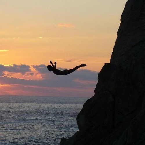 Go cliff diving - Bucket List Ideas