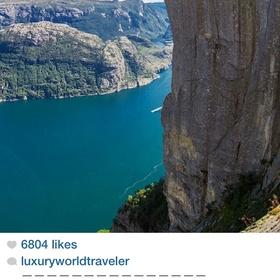 Go to Priekestolen, Norway to the 604m Cliff - Bucket List Ideas
