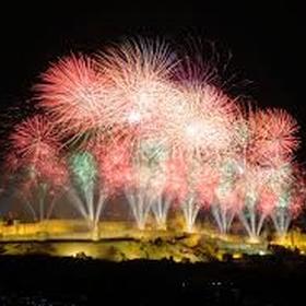 """Watch the """"embrasement de la cité"""" fireworks at carcassonne, france, on bastille day - Bucket List Ideas"""