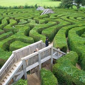 Get lost in a maze - Bucket List Ideas