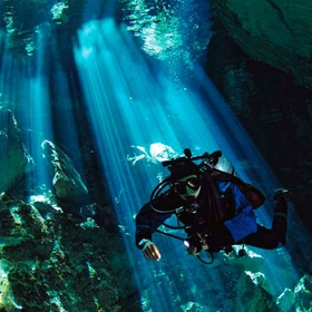 Dive the underground cenotes in mexico - Bucket List Ideas