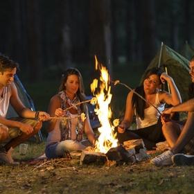 Invite friends for a campfire - Bucket List Ideas