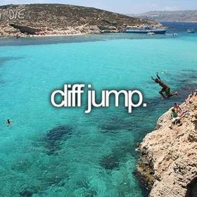Cliff dive - Bucket List Ideas