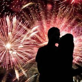Kiss My Love at Midnight on New Years - Bucket List Ideas