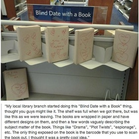 Make blind date books at library - Bucket List Ideas
