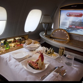 Fly First Class With Emirates - Bucket List Ideas