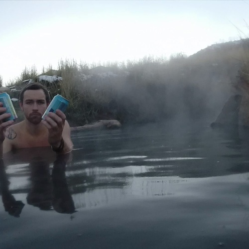 Have a Beer in a Hot Spring - Bucket List Ideas