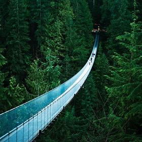 Cross the Capilano Suspension Bridge - Bucket List Ideas