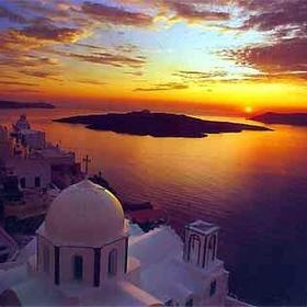 See the sunset in santorini, greece - Bucket List Ideas