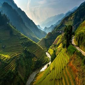 Vietnam - Rice Terrace Fields in Mu Cang Chai - Bucket List Ideas
