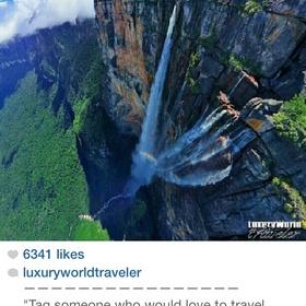 World's Tallest Waterfall- Angel Falls- Venezuela - Bucket List Ideas
