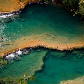 Swim in the pools of Semuc Champey, Guatemala - Bucket List Ideas
