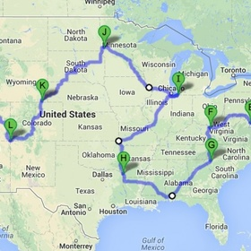 Do a 50 state road trip (in one trip) - Bucket List Ideas