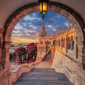 Visit the Fisherman's Bastion in Budapest - Bucket List Ideas