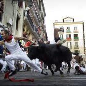Run with the bulls in Spain - Bucket List Ideas