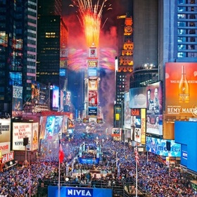 Celebrate New Year In Times Square - Bucket List Ideas