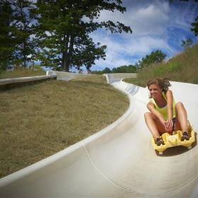 Ride an alpine slide - Bucket List Ideas
