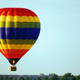 Ride in a Hot Air Balloon - Bucket List Ideas
