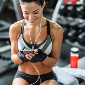 Make a workout playlist that really pushes my limits - Bucket List Ideas