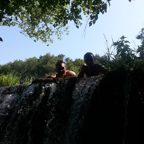 Stand under a waterfall - Bucket List Ideas