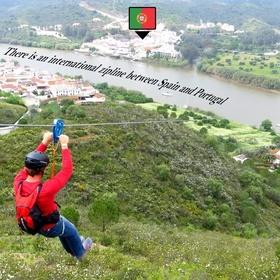 Zipline from Spain to Portugal - Bucket List Ideas