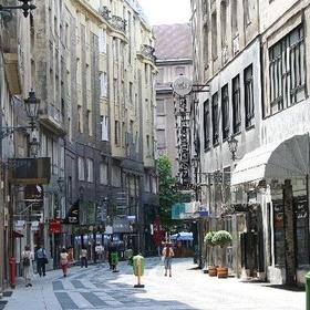Enjoy a walk on Vaci street in Budapest, Hungary - Bucket List Ideas