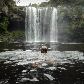 Take a shower under a waterfall - Bucket List Ideas