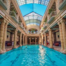 Visit Gellert Bath in Budapest, Hungary - Bucket List Ideas