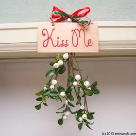 Get kissed under a mistletoe - Bucket List Ideas