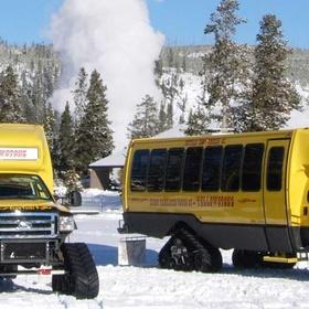 Explore Yellowstone by Snowcoach - Bucket List Ideas