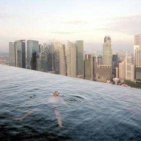 Swim in Pool on the 57th Floor of the Marina Bay Sands Resort, Singapore - Bucket List Ideas