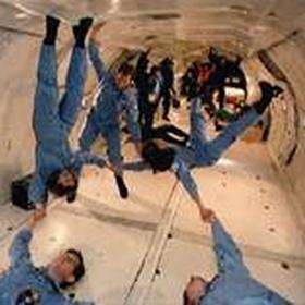 Experience weightlessness - Bucket List Ideas